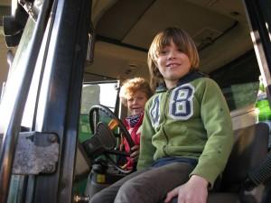 Traktorsitzen