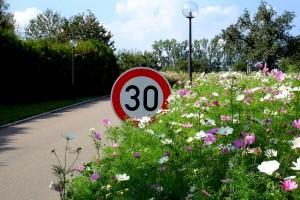 Zone 30, Zufahrt zur Klinik-dieter-felger