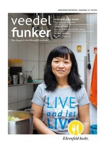 "Titel des Magazins ""Veedel Funker"" 09/2014"