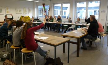 """Workshop """"Willkommenskultur"""" (c) Förderverein Lokale Agenda 21 in Gelsenkirchen e.V."""