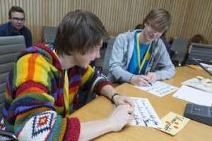 Jugendkongress 2014 - jungdenken jetzt! am 24. Januar 2014 im Düsseldorfer Landtag (c) Landesjugendring NRW