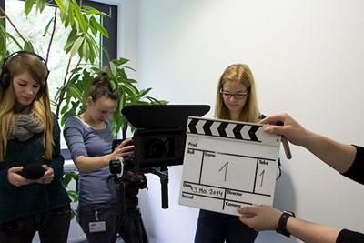"© RFH Köln für das Projekt ""Green movie. Green media."