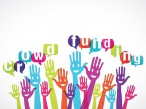 groupe mains souriantes : crowdfunding